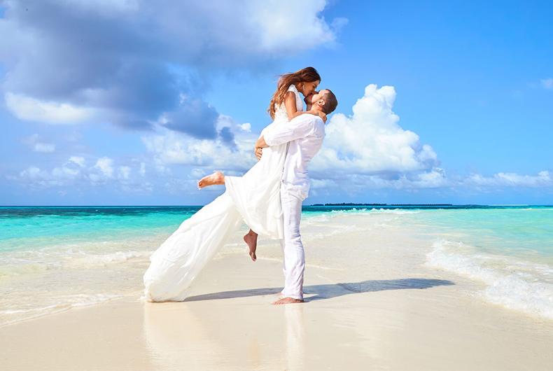 Maldives wedding packages
